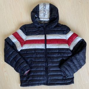 Tommy Hifiger Hooded Puff Jacket NWT